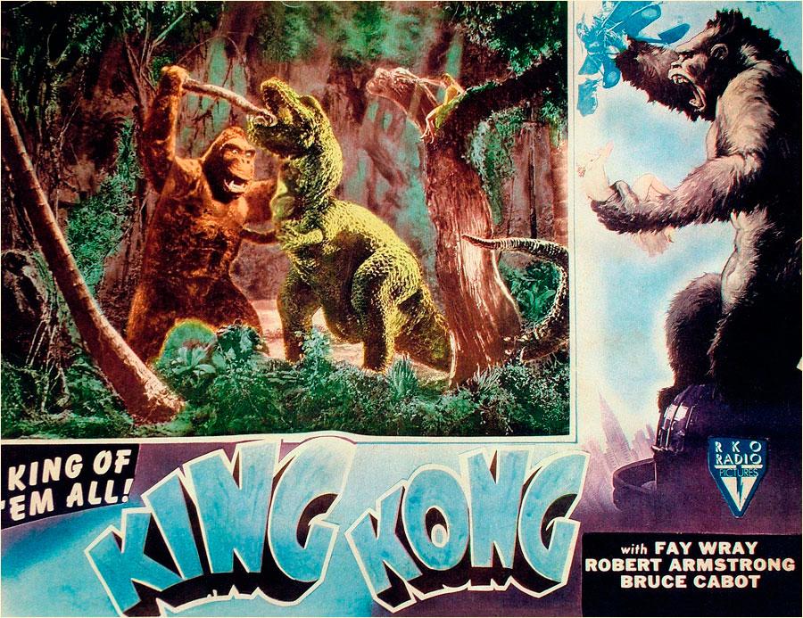 Original 1933 king kong movie poster