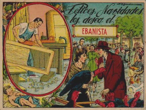 Navidad en espa a antigua navidad recuerdos de navidad - Ebanistas en madrid ...