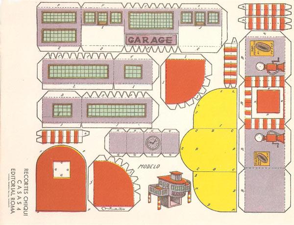 Muebles para armar en papel para maquetas imagui for Muebles de cocina para armar