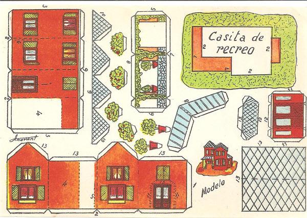 CASITA DE RECREO - Autor:Anarant (Estampas de España)