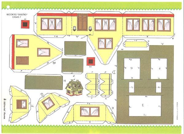 Casas armables para maquetas imagui for Construye tu casa en 3d