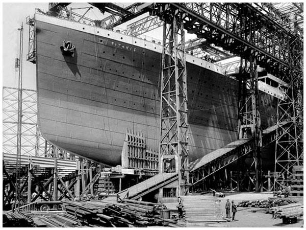 Rms titanic galeria 1912 rafael castillejo - Construccion del titanic ...